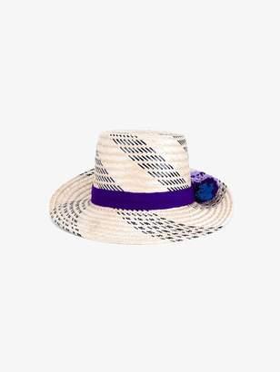 Yosuzi Woven Straw Anakena Hat