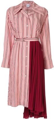 Puma Maison Yasuhiro pleated side dress