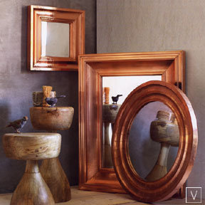 Roost Copper Clad Mirrors