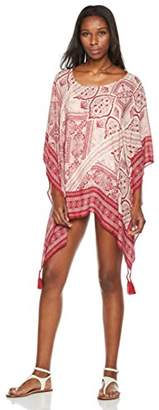 Beautiful Nomad Women's Floral Print Beach Cover up Swimwear
