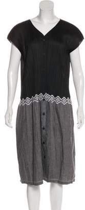 Pleats Please Issey Miyake Plissé Midi Dress
