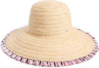 Kate Spade Multicolor Fringe Sun Hat