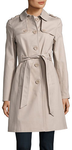 Kate Spade Kate Spade New York Button Front Trench Coat