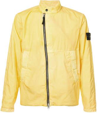 Stone Island band collar jacket