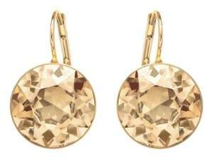 Swarovski Bela Faceted Crystal Drop Earrings