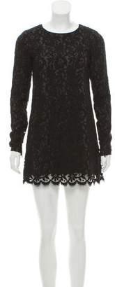 Theory Lace Mini Dress
