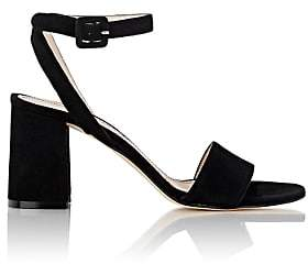 Barneys New York Women's Crisscross Ankle-Strap Sandals - Black