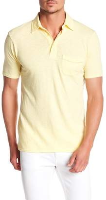 Goodlife Slub Split Hem Pocket Polo