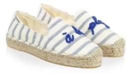 Soludos Striped Slip-On Espadrilles