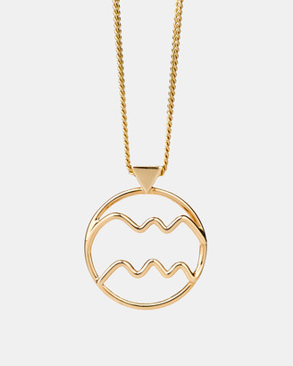 Karen Walker Aquarius Zodiac Necklace