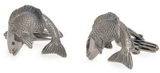 Lanvin Fish Cuff Links