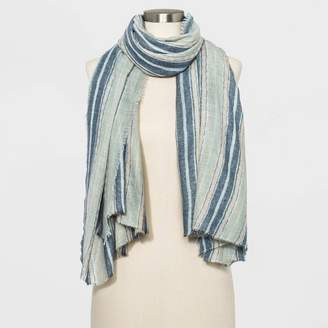 Universal Thread Women's Striped Square Scarf - Universal ThreadTM