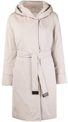 Max Mara hooded trench coat