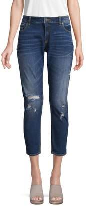 Miss Me Flap-Pocket Easy Ankle Skinny Jeans
