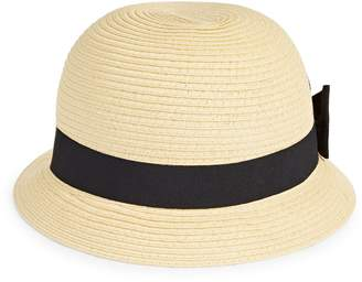 Cloche Parkhurst Contrast Bow Hat