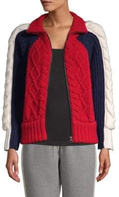 Tommy Hilfiger Tommy High Neck Zip Sweater