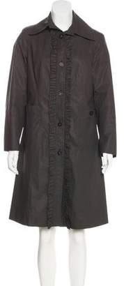 Burberry Knee-Length Lightweight Coat