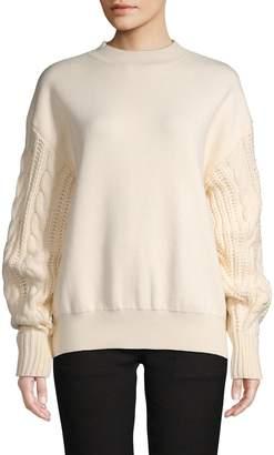 Lea & Viola Cable-Knit Sweater