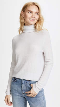 TSE Textured Cashmere Turtleneck