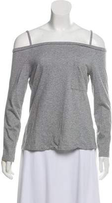 Robert Rodriguez Long Sleeve Cold Shoulder T-Shirt