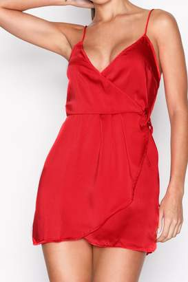 Motel Rocks Red Slip Dress