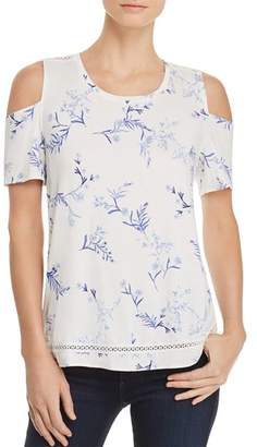 Lysse Mira Cold-Shoulder Floral Top