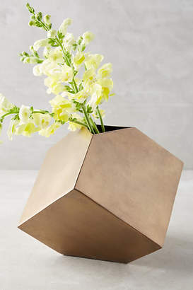 Anthropologie Cubic Vase