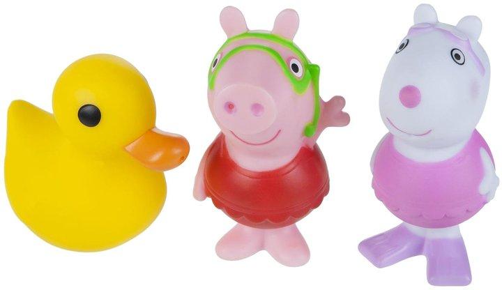 Peppa Pig Bath Squirtee 3 Pack