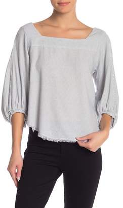 Velvet by Graham & Spencer Barlow Peasant Top