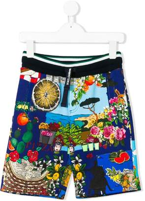 Dolce & Gabbana Tour of Italy shorts