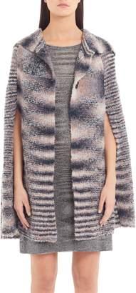 Missoni Wool & Alpaca Blend Cape