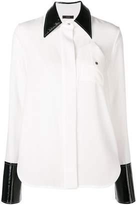 Ellery contrast details shirt