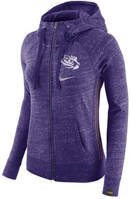 Nike Women's Lsu Tigers Vintage Full-Zip Hoodie