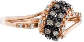 Le Vian 14K Bicolor Diamond Ring $395 thestylecure.com