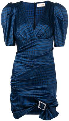 Alexandre Vauthier houndstooth print dress