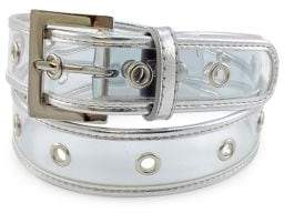 Fashion Focus Silvertone Jelly Belt