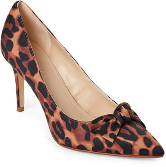 Marc Fisher Leopard Doreny Bow Pumps