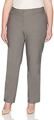 Lee Women's Plus Size Motion Series Eden Career Straight Leg Pant