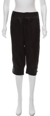 Mayle Mid-Rise Cropped Pants