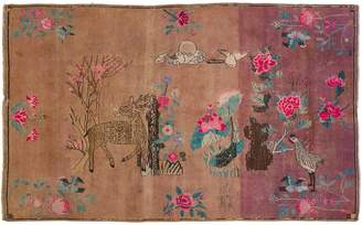 "ABC Home Vintage Khotan Wool Rug - 6'6""x10'5"""