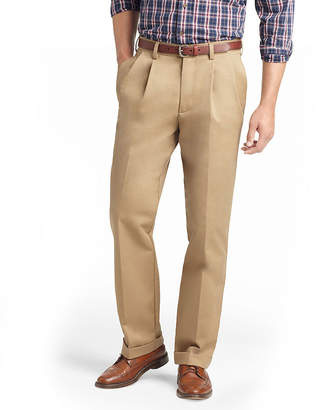 Izod American Chino Mens Classic Fit Pleated Pant