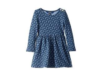 Polo Ralph Lauren Floral French Terry Dress (Toddler)