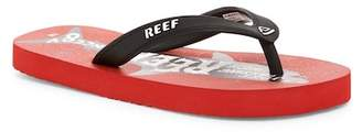 Reef Grom Switchfoot Print Flip Flop (Baby, Toddler, & Little Kid)