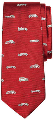 Brooks Brothers Boys Novelty Vintage Car Silk Tie