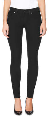 GUESS NEW Power Skinny Low Black