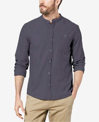 Dockers Men Slim-Fit Band Collar Shirt