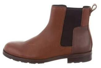 Hunter Leather Chelsea Boots