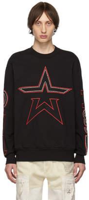 Diesel Black S-Bay-Studs Sweatshirt