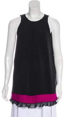 Alice + Olivia Sleeveless Accented Tunic