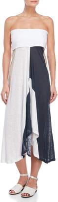 Pepito'S Melbourne Striped Strapless Dress